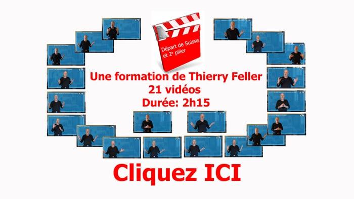 Formation vidéo Départ de Suisse et 2e pilier