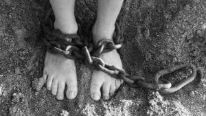 enchainé prisonnier